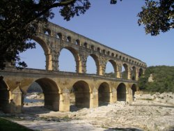 All the most impresive roman monuments in one day,Pont du Gard, Nimes, and Arles