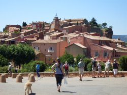 "The small village of Roussillon, which is also ranked among ""The Most Beautiful Villages of France"", is famous for its ochre cliffs... A tour from Aix or Avignon"